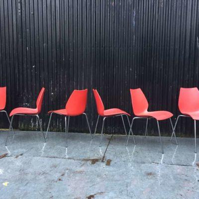 KARTELL MAUI STOEL chaise design rouge GoodStuffFactory