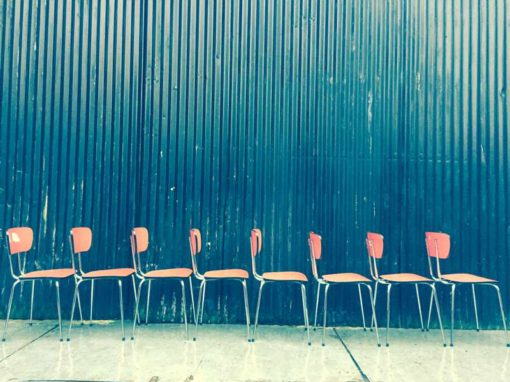 formica rood rode vintage kantine stoel chaise vintage formica cuisine GoodStuffFactory