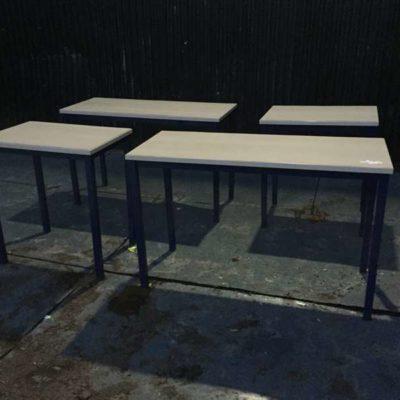 kantinetafel formica industriele HORECA tafel ijzeren frame _GoodStuffFactory