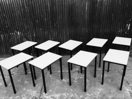 kantinetafel industriele HORECA tafel ijzeren frame _GoodStuffFactory
