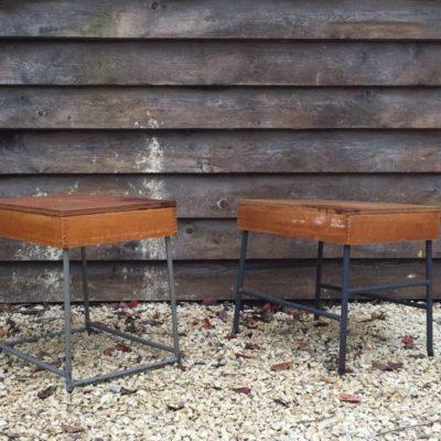 cafetafel horeca tafel pop up vintage retro second life table _GoodStuffFactory