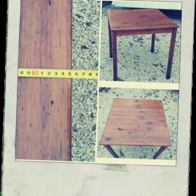 vierkante houten tafel cafe HORECA_GoodStuffFactory