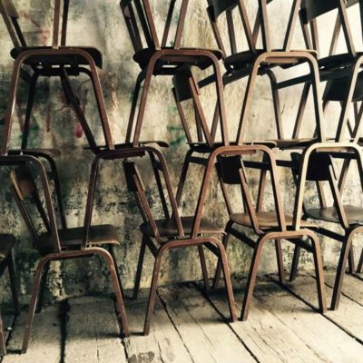 nordic wood vintage old schoolchair thonet lofty industrial musthave GoodStuffFactory