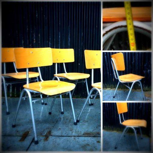 grijs grise frame retro vintage stoel chaise brocante GoodStuffFactory