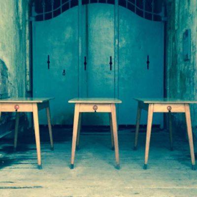 tables tafels barista brasserie koffiebar vintage retro horeca GoodStuffFactory