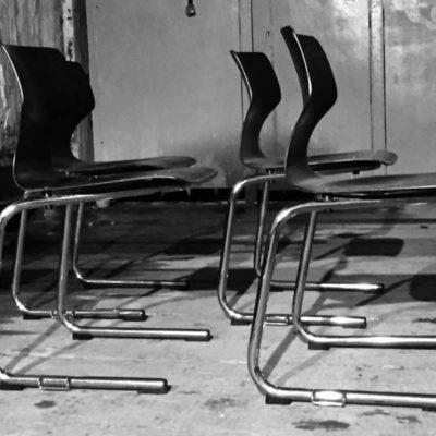 Vintage flototto Pagholz stoelen Pagwood Loft Chrome Office Desk industriel barista brasserie koffiebar vintage retro_GoodStuffFactory
