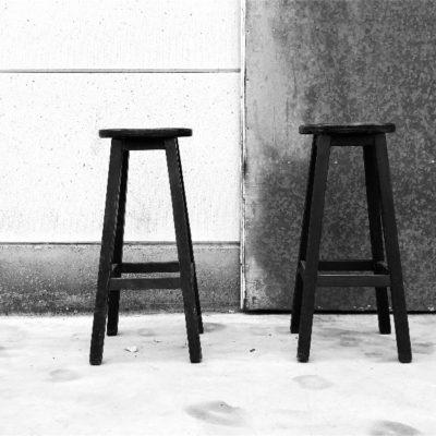 kruk stolar tabouret vintage CAFE-THEGOODSTUFFFACTORY