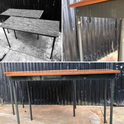 table tafel grijs grise vintage horeca brocante_thegoodstufffactory