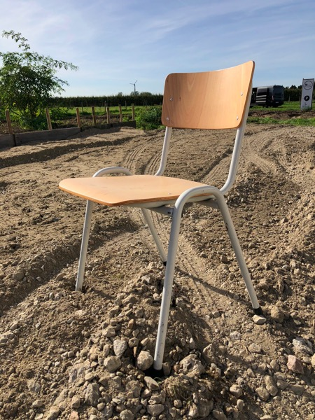 chaise stoel cantine wit vintage antik brocante_thegoodstufffactory