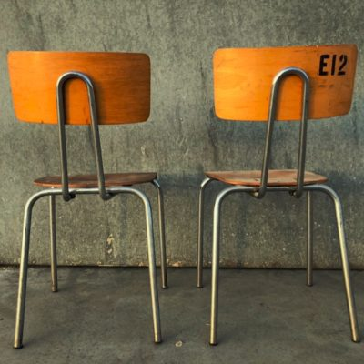 industrial cantine chairs_thegoodstufffactory