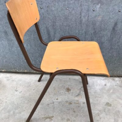 bruin brown vintage retro chair stuhl chaise_thegoodstufffactory_be