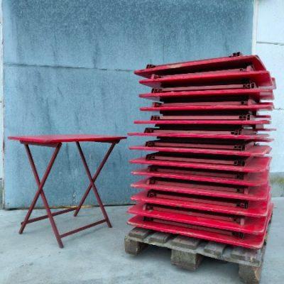 industrial antiques table foldable horeca terras stapelbaar_thegoodstufffactory_Be