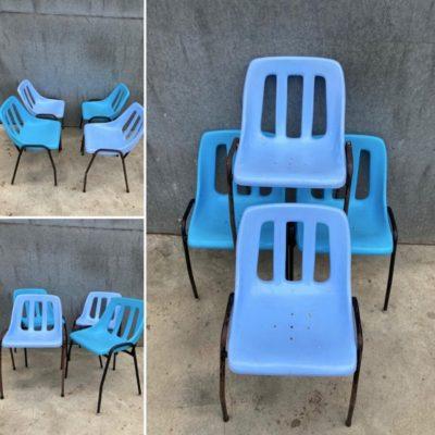HUNGARY stool retro mancave seventies sixties industrial canteens retro ostalgie cowork vintage retro_thegoodstufffactory