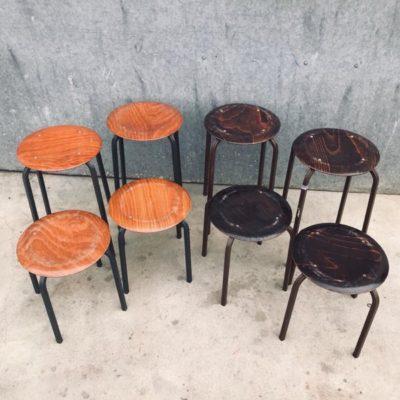 TABOURETS pagholz krukken stools chine du jour paris antwerp London retro_thegoodstufffactory_Be