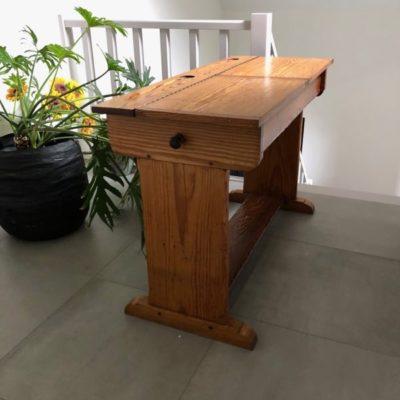 bureau pichpine stool retro mancave seventies sixties industrial canteens retro ostalgie cowork vintage retro_thegoodstufffactory