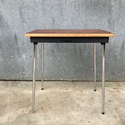 chrome HORECA tafels tables tabels interieur exterieur seventies sixties industrial canteens retro ostalgie cowork vintage retro