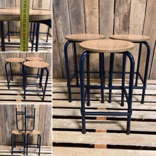 KRUKKEN stools ostalgie vintage retro stool_thegoodstufffactory