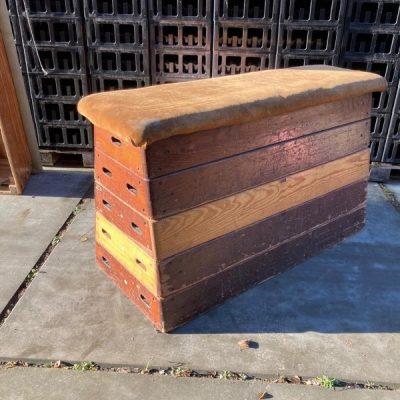 3 stuk plint turnbok gymkast turnkast gympaard retro vintage_thegoodstufffactory