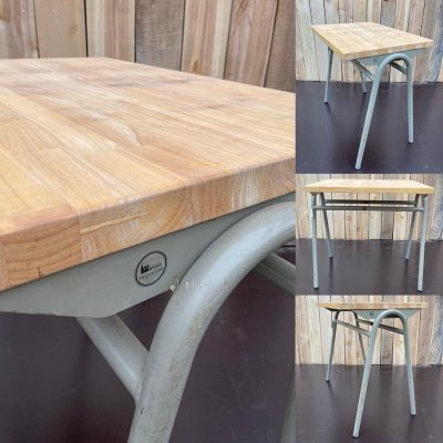 tubax rubberwood tafel cowork hospitality interior industrial raw materials retro vintage upcycled_thegoodstufffactory_be