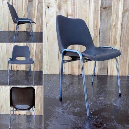pvc stoelen 9 stuks project furniture cowork_thegoodstufffactory_be
