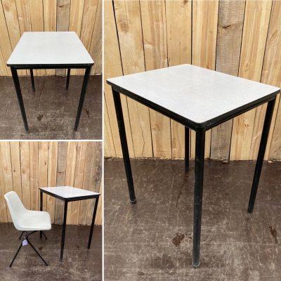 horeca tafels formica zwart black retro vintage_thegoodstufffactory_be