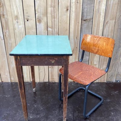 horeca tafels tables couverts retro vintage nostalgie ostalgie school_thegoodstufffactory_be