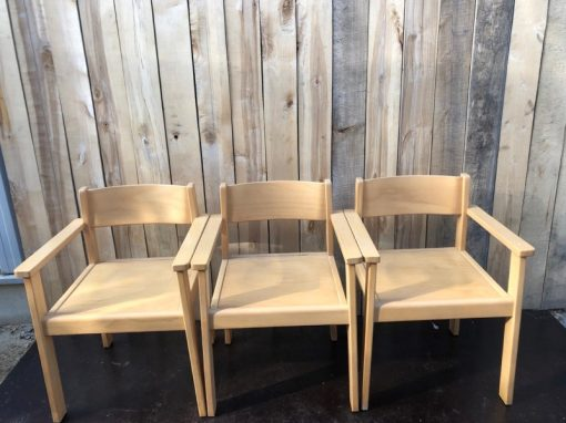 houten massieve industrial antiques ostalgie retro chair chaise stolar_thegoodstufffactory