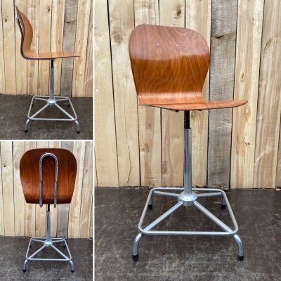 pagholz atelierstoel retro vintage_thegoodstufffactory_be