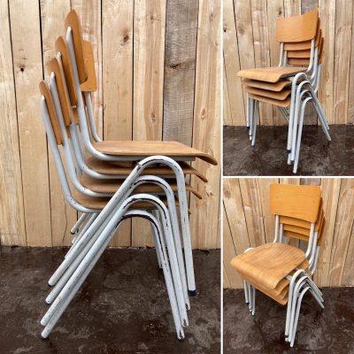 witte stoelen chaises stolar retro vintage_thegoodstufffactory_be