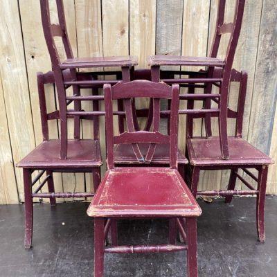 bordeaux caféstoelen houten bruine houten cafestoel retro design_thegoodstufffactory