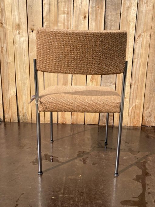 giroflex seventies upholstered chrome interieur retro vintage_thegoodstufffactory_be