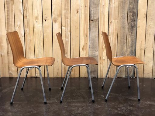 iso wood plywood stoelen vintage retro_thegoodstufffactory