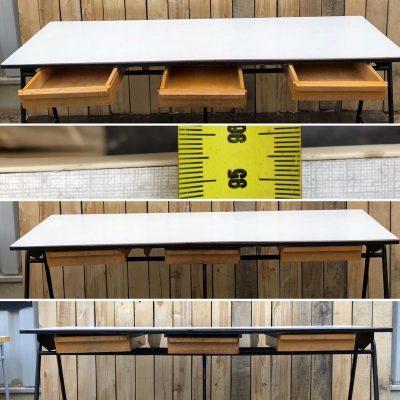 kantine tafel bureau horeca toppers retro sixties vintage_thegoodstufffactory_be
