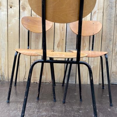 pieces uniques zwarte stoelen retro good stuff