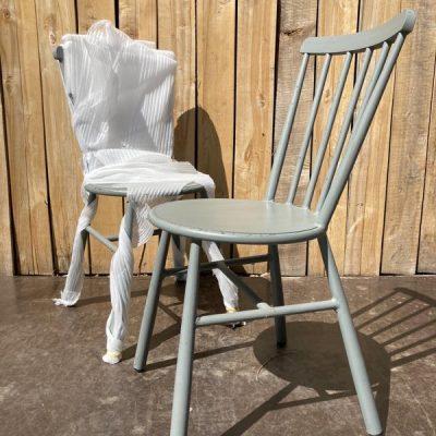 metalen alu nieuwe buitenmeubilair industrial antiques horeca cohab interior _ retro vintage _thegoodstufffactory