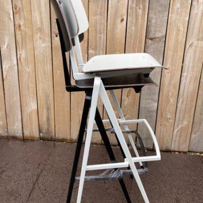 Galvanitas S17 stool barkruk hay no pieds compas passerpoten prouvé vintage old new retro dutch design_thegoodstufffactory_Be
