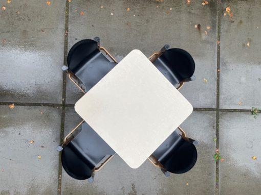 Thonet Flex table tafel mid century design Gerd Lange The good stuff Factory panomo selency nope